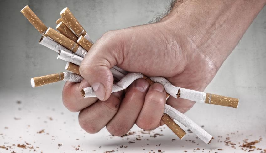 Il segno del secondo stadio di dipendenza di nicotina è questo